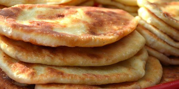 пирожки на кефире с картошкой жареные рецепт с фото